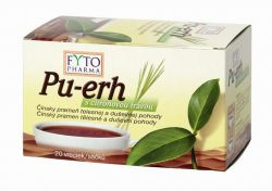 Fytopharma Pu-erh s citrónovou trávou 20x1,5 g