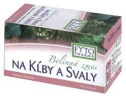 Fytopharma Bylinný čaj na klouby a svaly 20x1,25 g