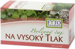 Fytopharma Bylinný čaj na vysoký tlak 20x1,25 g