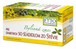 Fytopharma Bylinná směs pro diabetiky se sladidlem ze stévie 20x1,5 g