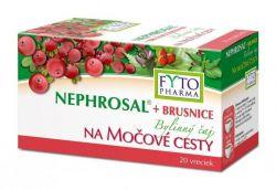 Fytopharma NEPHROSAL + brusinky bylinný čaj na močové cesty 20x1,5 g