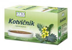 Fytopharma Kotvičník čaj porcovaný 20x1g