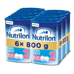 Nutrilon 2 Good Night 800 g 6-pack