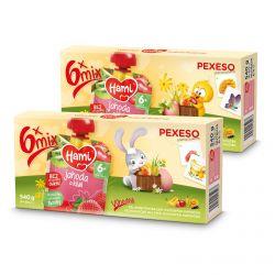 Hami Velikonoční balení ovocných kapsiček 6x90 g