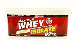 Xxlabs Maximum Whey Protein Isolate 92  vanilka 1000 g
