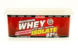 Xxlabs Maximum Whey Protein Isolate 92  jahoda 1000 g
