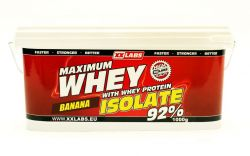 Xxlabs Maximum Whey Protein Isolate 92  banán 1000 g