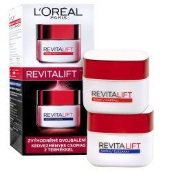 Loréal Paris Revitalift Denní a noční krém zvýhodněné dvojbalení 2x50 ml