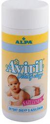 Alpa Aviril Dětský zásyp s azulenem sypačka 100 g