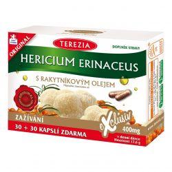 Terezia Hericium erinaceus s rakytníkovým olejem 30+30 kapslí
