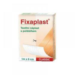 Fixaplast Classic 1 m x 6 cm náplast nedělěná s polštářkem 1 ks