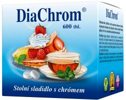 Diachrom nízkokalorické sladidlo 600 tablet