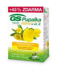 GS Pupalka Forte s vitaminem E cps. 70 + 30