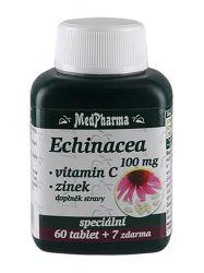 Medpharma Echinacea 100 mg + vitamin C + zinek 67 tablet