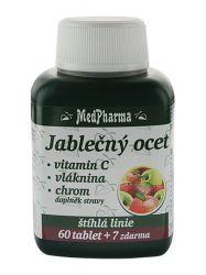 Medpharma Jablečný ocet + vitamin C + vláknina + chrom 67 tablet
