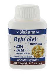 MedPharma Rybí olej 1000mg - EPA + DHA tob.37