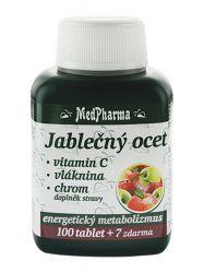 Medpharma Jablečný ocet + vitamin C + vláknina + chrom 107 tablet