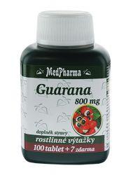 Medpharma Guarana 800 mg 107 tablet