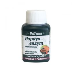 Medpharma Papaya enzym 37 tablet