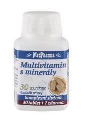 Medpharma Multivitamín s minerály 30 složek 37 tablet