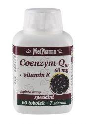 Medpharma Coenzym Q10 60 mg + vitamin E 67 tobolek