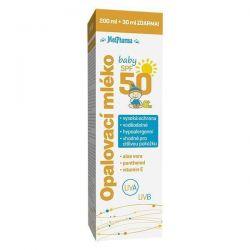 Medpharma Opalovací mléko baby SPF50 200 ml + 30 ml ZDARMA