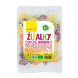 Wolfberry Ovocné bonbóny Žížalky BIO 75 g