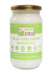 Mladý kokos BIO RAW extra panenský kokosový olej 1000ml