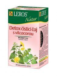 LEROS NATUR Detox čist.čaj s Vilcacorou n.s. 20x1.5g