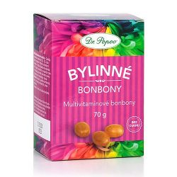 Dr. Popov Bylinné bonbony Multivitamín 70 g