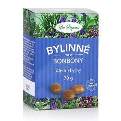 Dr. Popov Bylinné bonbony Alpské byliny 70 g