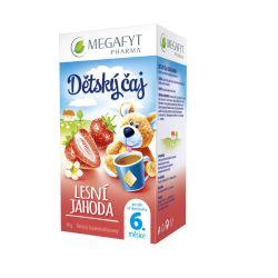 Megafyt Dětský ovocný čaj s příchutí lesní jahody porcovaný čaj 20x2 g