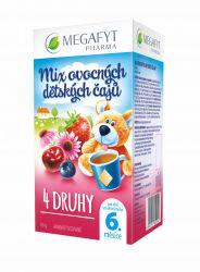Megafyt MIX ovocných dětských čajů 20x2g