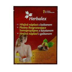 Herbalex Hřejivá náplast s kaštanem 1 ks