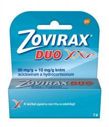 Zovirax Duo 50 mg/g + 10 mg/g krém 2 g