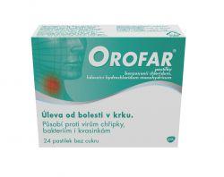 Orofar 24 pastilek