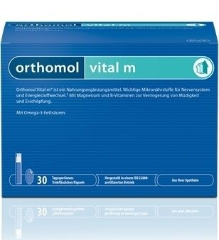 Orthomol Vital m 30 denních dávek