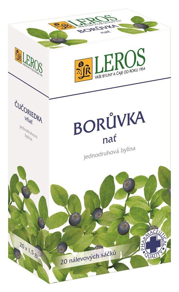 LEROS Borůvka - nať n.s. 20x1.5g