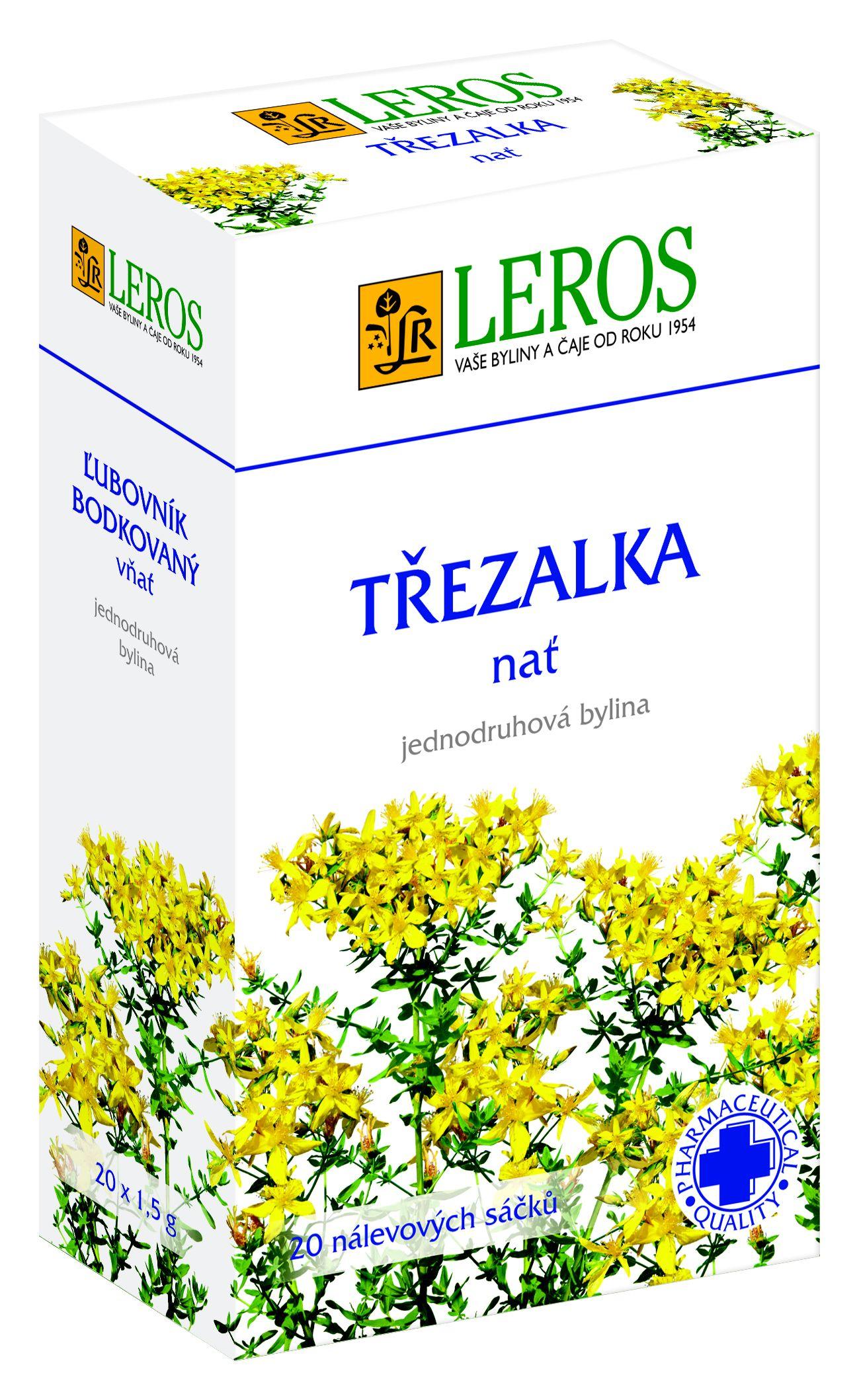 LEROS Třezalka - nať n.s. 20x1.5g