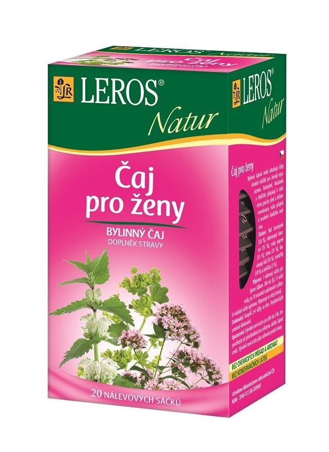 LEROS NATUR Čaj pro ženy n.s. 20x1.5g