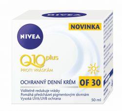 Nivea Denní krém proti vráskam Q10 OF30 50 ml