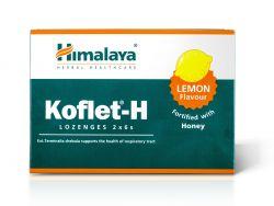Himalaya Herbals Koflet-H Lemon pastilky s medem 12 ks