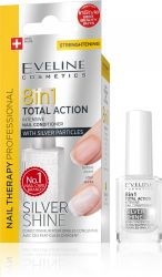 Eveline SPA Nail Total 8v1 Silver kondicionér na nehty 12 ml