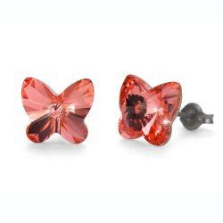 Náušnice Butterfly rose peach