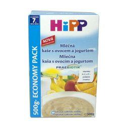 Hipp KAŠE PREBIO mléčnoobilná s ovocem a jogurtem 500 g