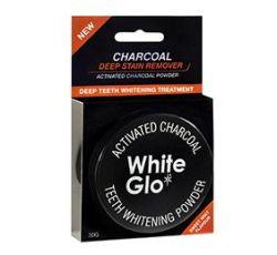 White Glo Charcoal bělicí zubní pudr 30 g