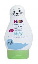 Hipp BabySanft Šampon Vlasy a tělo 200 ml