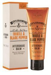 Scottish Fine Soaps Černý pepř a ostropestřec balzám po holení 75 ml
