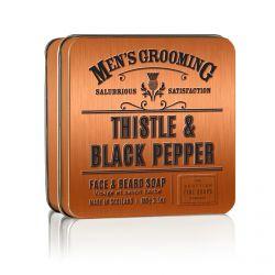 Scottish Fine Soaps Černý pepř a ostropestřec pánské mýdlo 100 g