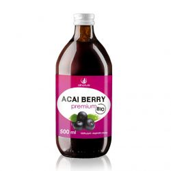 Allnature Acai Berry BIO pyré 500 ml